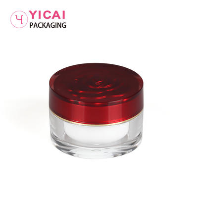 YC-G159 PMMA Cream Jars Containers