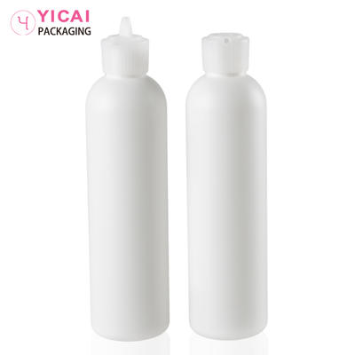 YC-P10 plastic baby talc powder shaker bottle with mesh filter cap
