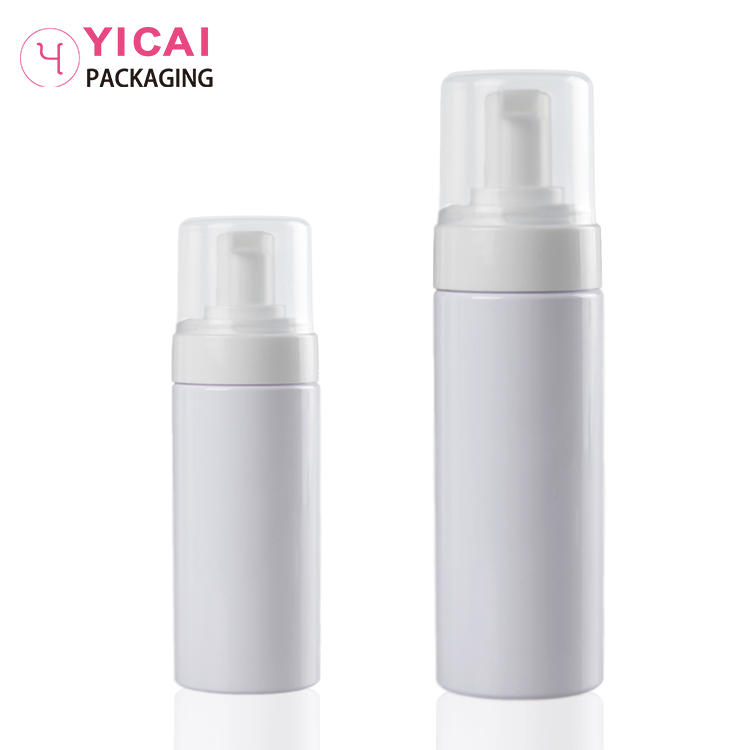 YC-P67 plastic pet cosmetic bottles for body lotion packaging