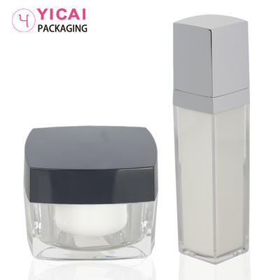 YC-G02&YC-R03 PMMA Cream Jars Containers