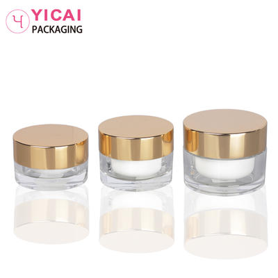 YC-G10A PMMA Cream Jars Containers