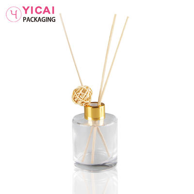YC-B62 Clear Square Glass Spray Aroma Bottle