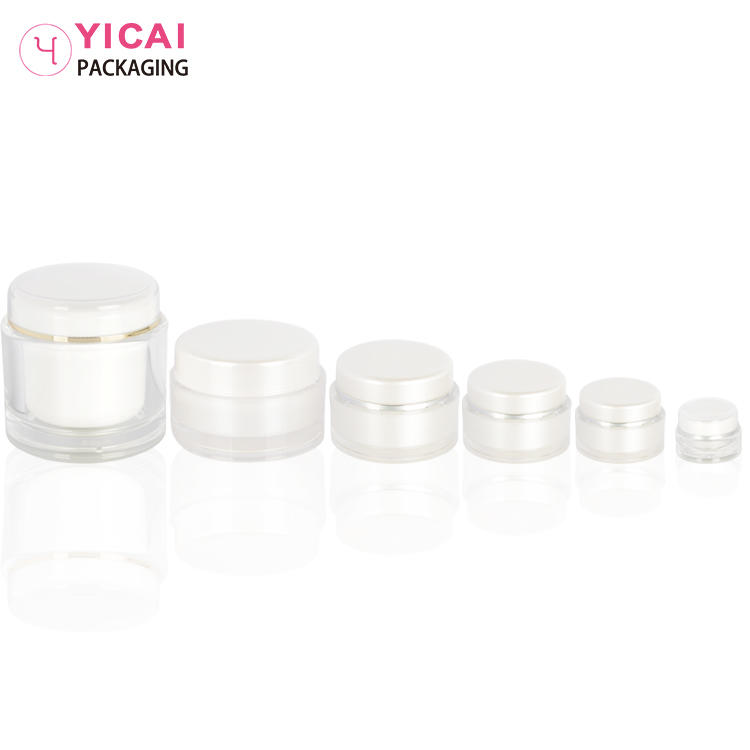 YC-G08 PMMA Cream Jars Containers