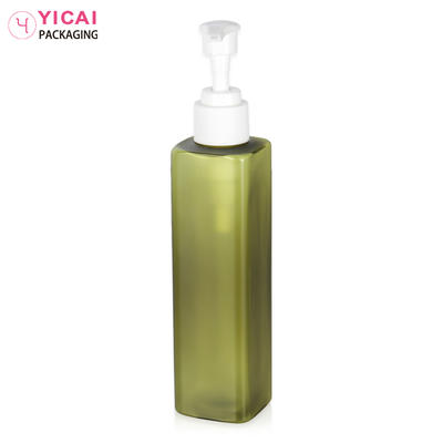 plastic pet cosmetic bottles for body lotion packaging