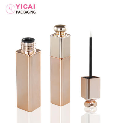 Cosmetic Plastic Square Empty Frosted Lip Gloss Tube
